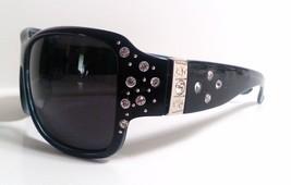 Large Polarized Womens Sunglasses Bling with Rhinestones Wrap - $9.97