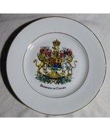 """Decorative """"Dominion of Canada"""" Collectible Plate - $15.99"""