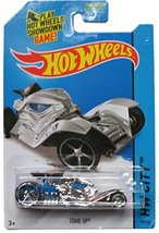 Hot Wheels 2014 Hw City Fright Cars - Tomb Up - Chrome/Blue 78/250 - $1.75