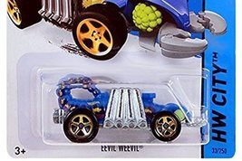 Hot Wheels, 2015 HW City, Eevil Weevil [Blue] Die-Cast Vehicle #33/250 - $3.86