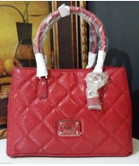 NWT GUESS Ophelia Girlfriend Satchel Lipstick SG456223 - $128.00