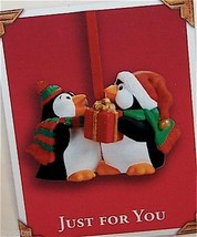Hallmark 2003 Just For You Penguins Club Exclusive Ornament QXC4567 - $16.95