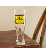312 Urban Sheat Ale Goose Island Chicago Beer Pilsner Glass Barware (t14) - $10.50