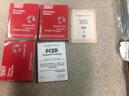 2003 LINCOLN LS Service Shop Repair Manual Set OEM W EWD & Training Book... - $267.25