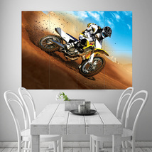 Wall Poster Art Giant Picture Print Extreme Sports Trail Bike 0477PB - $22.99