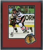 Jonathan Toews 2016 NHL Stadium Series - 11 x 14 Team Logo Matted/Framed Photo - $42.95