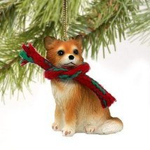 Chihuahua Miniature Dog Ornament - Longhair - $10.99