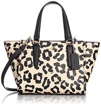 Coach 34334 Crosby Mini Carryall in Ocelot Prin... - $295.02