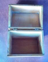 Vintage Recipe Box Made of Wood - $20.56