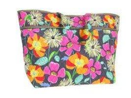 Vera Bradley Grand Tote Jazzy Blooms [Apparel] Vera Bradley - ₹4,583.76 INR
