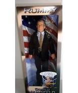 "Donald Rumsfield Doll ""Rummy"" Secretary of Defense 12"" NEW - $31.68"