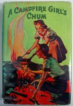 A Campfire Girl's Chum #2 Jane L. Stewart hcdj Saalfield Publishing - $8.00
