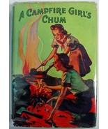 A Campfire Girl's Chum #2 Jane L. Stewart hcdj Saalfield Publishing - $8.00