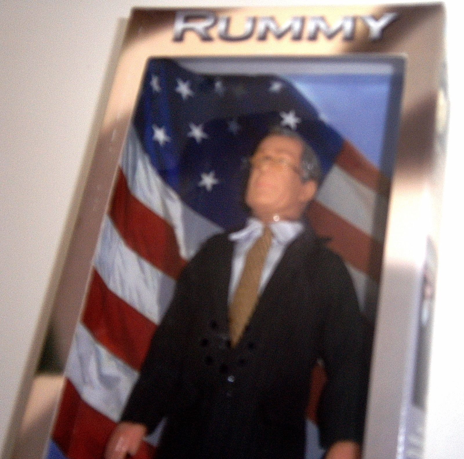 "Donald Rumsfield Doll ""Rummy"" Secretary of Defense 12"" NEW image 2"