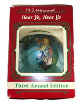 M.J. Hummel Ornament Hear Ye,Hear Ye 1985 3rd Annual The Ornament Collec... - $9.99