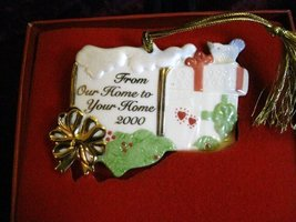 Lenox From Our Home to Your Home 2000 Ornament New in Box - $8.91