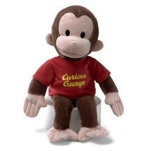 Gund Curious George Stuffed Animal, 16 inches - $17.77