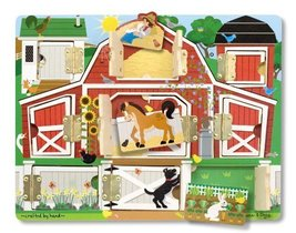 Melissa & Doug Magnetic Farm Hide and Seek - $14.80