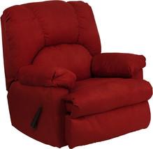 Flash Furniture Contemporary Montana Garnett Microfiber Suede Rocker Rec... - $348.64