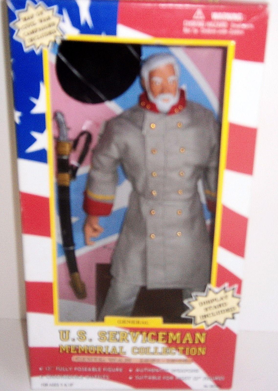 """U.S Serviceman Civil War """"General"""" Doll NEW"""