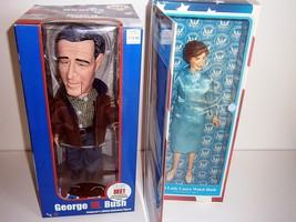 George W.Bush and Laura Bush dolls NEW - $89.10