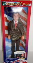 "George W. Bush Talking Doll 12"" NEW - $45.54"