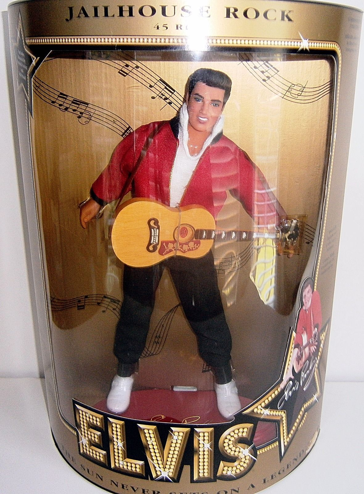 "Primary image for Elvis Presley ""Jailhouse Rock"" Doll 12"" New in Box-Never Opened"