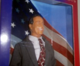 George H. Bush Talking Doll NEW image 3