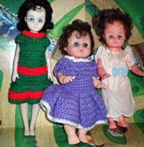 Dolls - Lot of Three Dolls - $6.00