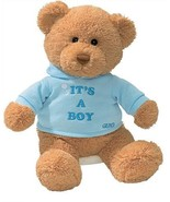 "Enesco Its A Boy T Shirt 7.5"" Bear Plush - $9.65"