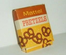 Vintage Barbie Babysits Pretzels #953 Box Only 1963 Small Tear - $7.43