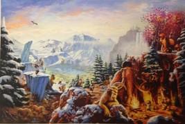 Ice Age(18 x 27) By Thomas Kinkade Studios - $230.00