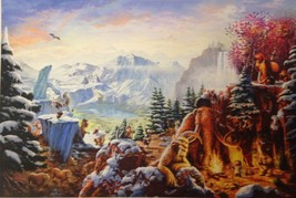 Ice Age(24 x 36) By Thomas Kinkade Studios - $295.00