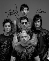 AVENGED SEVENFOLD BAND SIGNED PHOTO 8X10 RP AUTOGRAPHED ALL MEMBERS - $19.99