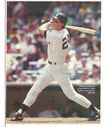Boston Red Sox Ted Williams New York Yankees Kevin Maas 3 1991 Pinup Photos - $1.75