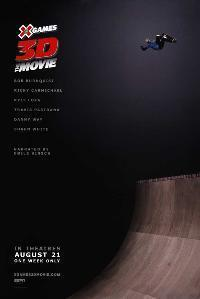 Poster x games 3d the movie