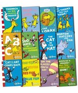 Dr. Seuss Collection 12 Books Set Pack New (The Lorax, The Cat in the Ha... - $105.63