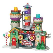 Department 56 North Pole Yummy Gummy Gumdrop Factory - $82.12