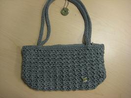 The Sak Crochet/Woven Purse Shoulder Handbag - $12.00