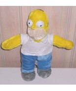 "Homer Simpson Plush Dad 10"" Looking for Collector Home & Donuts - $4.29"