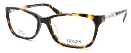 GUESS GU2561-F 052 Women's Eyeglasses Frames Asian Fit 53-15-135 Dark Havana - $41.27