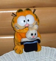 "Garfield Magician with Rabbit in Top Hat Plush 8"" Dakin Vintage 80's - $14.89"