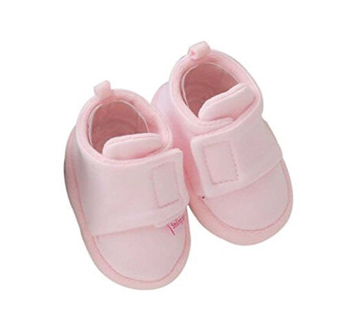 2 Pairs of Soft Sole Shoes Warm Newborn Shoes Cotton Shoes Baby Toddler PINK