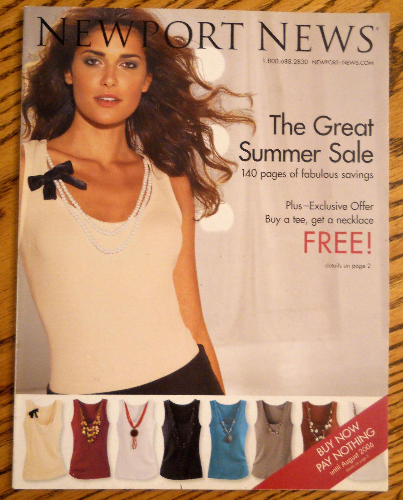 NEWPORT NEWS Summer 2006 Fashion Catalog Big Issue 140 ...