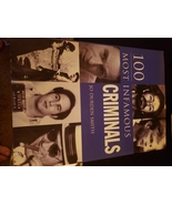 100 most infamous criminals book hardback - $9.99
