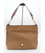 NWT Dooney & Bourke Brown Leather Extra Large Courtney Sac Hobo Shoulder... - $198.00