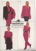 Simplicity 9366 Uncut Misses Pants Skirt Jewel Neck Top Shawl Collar Jacket - $5.50