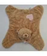 Baby Gund Puddin Teddy Bear Plush Lovey Tan Pink Cuddly Pal Comfy Cozy T... - $53.99