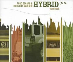 2006/2007 Ford Mercury HYBRID HANDBOOK brochure catalog ESCAPE MARINER - $8.00