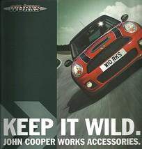 2007 Mini JOHN COOPER WORKS Tuning brochure catalog US 07 accessories - $10.00